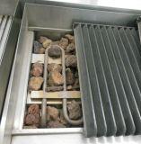 Freistehendes elektrisches Lava-Felsen-Gitter mit Schrank
