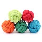 Zanahoria linda del juguete de la cuerda del algodón del animal doméstico de la bola del perro
