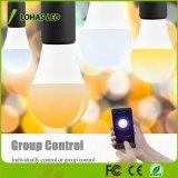 A19 Gu24 Lichte 60W Gelijkwaardige (9W) Melodieuze Witte (2000K-6500K) Slimme LEIDENE WiFi van de Basis van Dimmable WiFi Gloeilamp