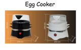 Vapore rapido dell'uovo della famiglia della prima colazione elettrica