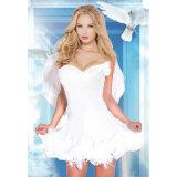 Красотка женщин люкс и Costume Princess Красавицы Шарика Мантии Сексуальный зверя