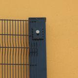 Порошковое покрытие 358 высокий уровень безопасности проволочной сеткой ограждения