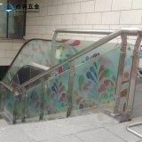 유리 8-12 mm를 위한 스테인리스 층계 방책을 주문 설계하십시오