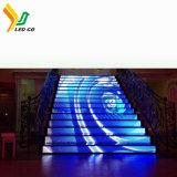 Visualización de LED de la etapa de la consumición de las energías bajas