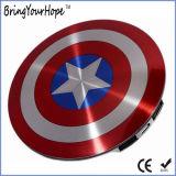 Captain America Shield super héros de la conception de la Banque d'alimentation 6000mAh (XH-PB-140)