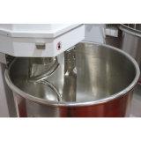Equipamento de padaria comercial, 50kg 130L Massa/massa de farinha de trigo/Misturador em espiral