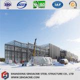 저가 아키텍쳐 디자인 Prefabricated 강철 구조물 창고
