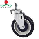 Griff-Ring-runde Stamm-Einkaufswagen-Fußrolle