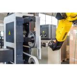 Robot di levigatura per rubinetti in rame macchina lucidatrice industriale