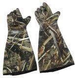 De Lange Handschoenen van het Neopreen van Camouflag voor de Jacht