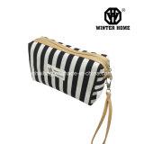 黒い白の2017本の新しい縞の装飾的な袋は、袋を構成する