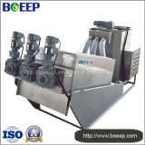 Deshidratación de lodos de alta eficiencia de la máquina en las aguas residuales de fabricación de papel