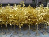 Вал баньяна тележки стекла волокна золота искусственний для украшения празднества
