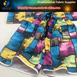Tissu Anti-UV Beach Shots, 100% Polyester Peach Skin Printing Fabric