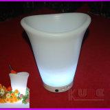 El cubo de hielo de los muebles del LDPE recicla el vino Cantainer