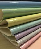 Couro sintético do plutônio da patente macia colorida para sacos, sapatas, decoração, (HS-Y43)