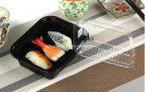 Caixa descartável de pão de sobremesa de sushi de plástico (S805)