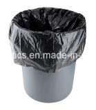 Sacchetto di rullo impaccante del sacchetto dello scomparto del sacchetto di rifiuti del sacchetto di rifiuti del sacchetto del giardino del sacchetto del sacchetto nero dei rifiuti