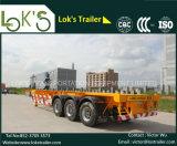 40 pés de carga de 3axles/do recipiente reboque de esqueleto caminhão Semi