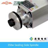 шпиндель стороны запечатывания 350W 12000rpm для маршрутизатора CNC