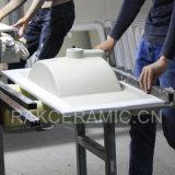 Раковина встречной верхней части тазика Featheredge тазика мытья санитарных изделий керамическая (LINDA-60)