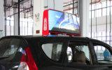 Supporto esterno del giocatore dell'annuncio di alta luminosità LED sul tetto dell'automobile di P5, P6