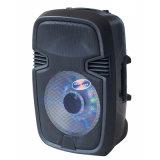 Leistungsfähiger beweglicher nachladbarer aktiver Bluetooth Laufkatze-Lautsprecher mit Batterie ---F22L