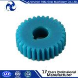 Attrezzo di dente cilindrico di plastica Delrin materiale Af Turcite un Rod per macchinario