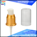 24/410 Plating Aluminum Sliver Cream Pump with Cap