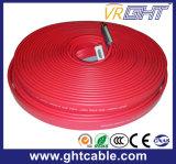 Tela plana de alta qualidade vermelho do cabo HDMI (F016)