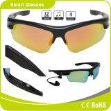 극화된 호환성이 있는 렌즈 Bluetooth 헤드폰 접촉 단추 색안경