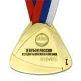締縄の製造者の装飾のエナメルが付いている卸し売り銅のバスケットボールメダル