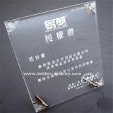 Изготовленный на заказ ясный акриловый кристаллический трофей (BTR- I7061)
