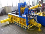 Prensa horizontal del metal de la basura hidráulica del mecanismo impulsor