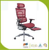Manager-leitende Stellung-Ineinander greifen-Stuhl mit Schemel