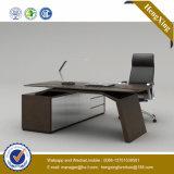 Meubles de bureau exécutif noirs de Tableau de patte en métal de couleur (NS-NW115)