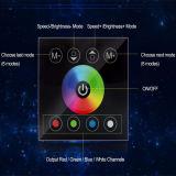 Regulador a todo color del panel de tacto para la tira de RGBW LED