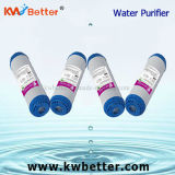 Cartucho del purificador del agua de GAC con el cartucho de filtro plisado de agua
