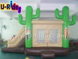 Cactus mayorista combo castillo inflable saltando de rebote rebote de la casa de alquiler de eventos