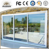 Grill Insides를 가진 중국 Factory Cheap Factory Cheap Price Fiberglass Plastic UPVC Profile Frame Sliding Door