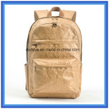 Popular Novo Material DuPont Paper Mochila Mochila Casual, Light Weight Promoção Tyvek Paper Double Shoulder Backpack Bag
