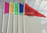 손 깃발을 동요하는 깃발을 인쇄하는 폴리에스테 소형 붙든 지팡이