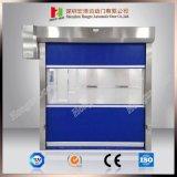 Selbstreparable transparente Gewebe Belüftung-Tür-Rollen-Blendenverschluss-Hochgeschwindigkeitstür (Hz-FC0210)