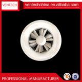 換気の調節可能な刃の天井の円形の渦巻の拡散器