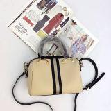 Satchel brandnew luxuoso da forma da bolsa do couro genuíno do estilo se os sacos para o uso Emg5134 das mulheres
