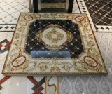 Carrelage en cristal Polished de tapis de vente chaude avec la lumière fluorescente