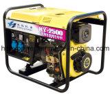2800W 전기 가정 사용 휴대용 디젤 엔진 발전기