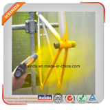Taille des particules Uniforme Metallic Epoxy Gold Yellow Paint Powder Coating