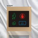 Sistema de timbre Hotel Panel exterior en el marco de esquema de acrílico (SK-dB100S3-S)