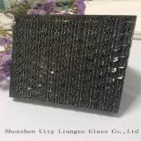 стекло сандвича 5mm+Silk+5mm подгонянное Серебр-Зеркалом/закалило защитное стекло прокатанного стекла/для после того как оно украшено